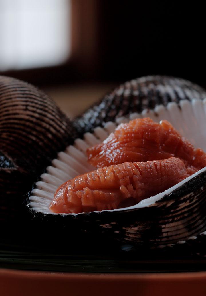 Usa akagai clam